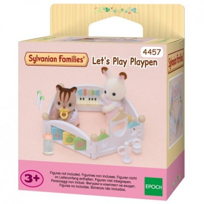 Sylvanian Families  Lets Play Playpen   4457