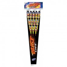 Blast Off Pack of 5 Rockets